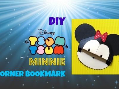DIY Tsum Tsum Minnie Corner Bookmark