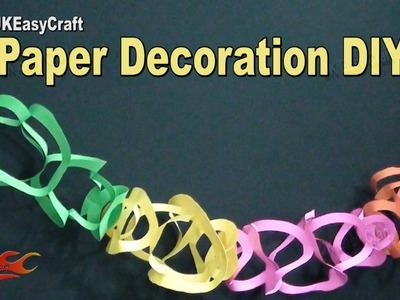 Easy Paper Decorations   #EcoFriendlyGanpatiDecoration    How to make   JK Eeasy Craft184