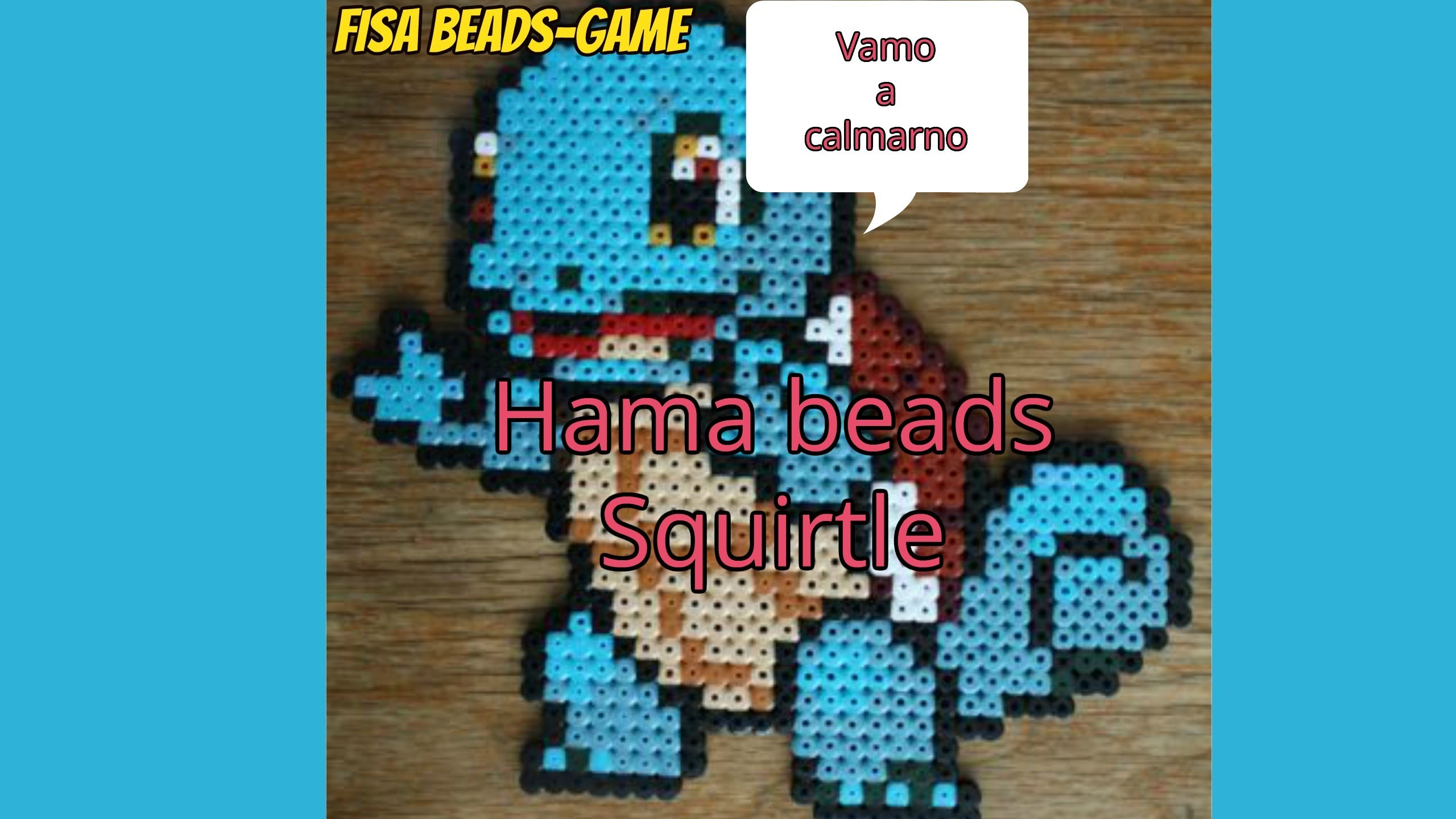 Hama Beads-DIY-Squirtle