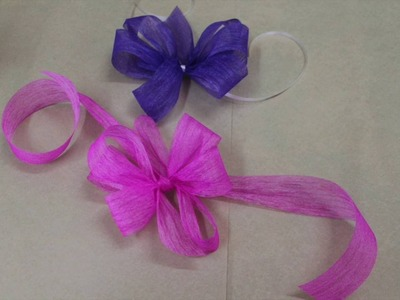 How to create a bow