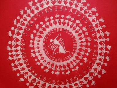 How to do warli painting- Tarpa Dance