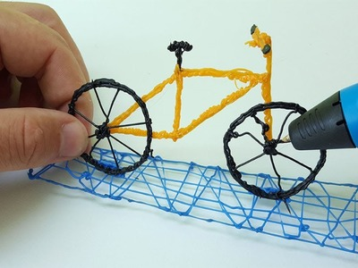 How to draw Bike with PEN 3D | Pen 3d| diy