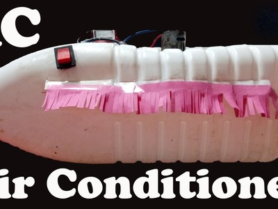 How to Make a AC ( AIr Conditioner ) At Home DIY