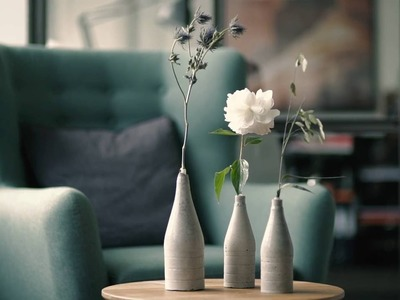 How to make a Cement Vase