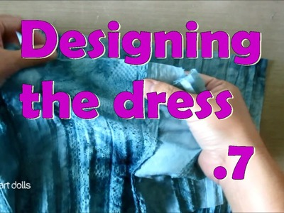 How to make a doll dress. Art Dolls tutorial. Fairy Queen 07
