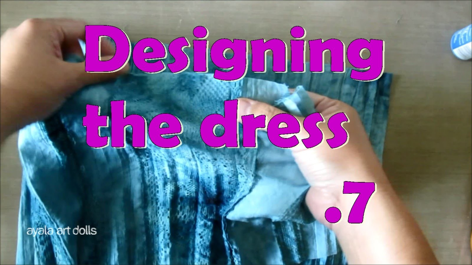 How to make a doll dress. Art Dolls tutorial. Fairy Queen 07