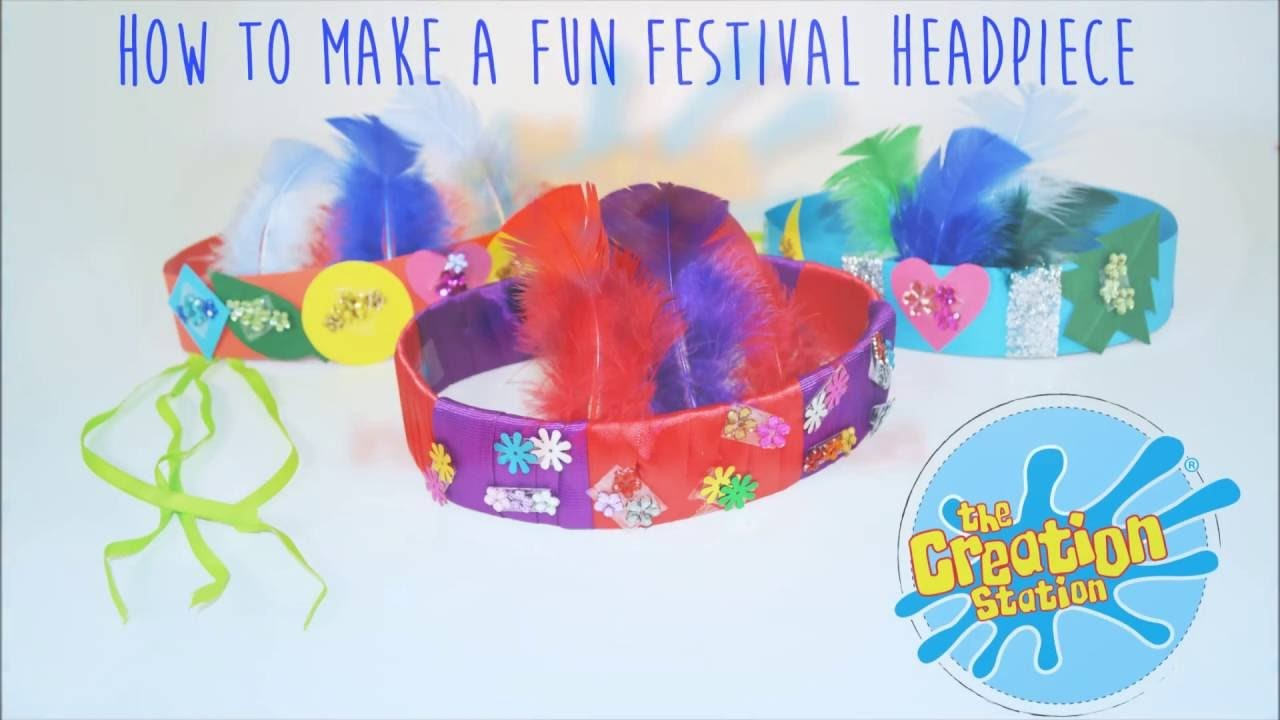 How To Make A Fun Festival Headpiece