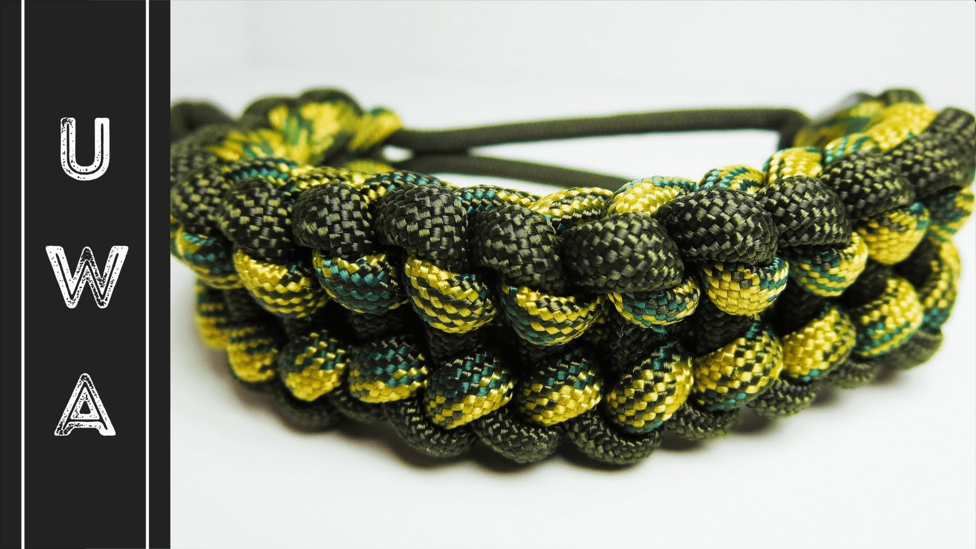 How to make a Reverse Jagged Ladder Rack Paracord Bracelet