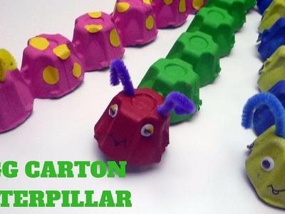 How to Make an Egg Carton Caterpillar