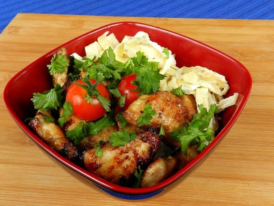 How To Make CHICKEN RICE BOWL TBEO Video #87