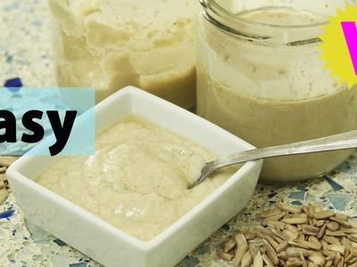 How to make dairy-free yoghurt | VEGAN | Sunflower yoghurt