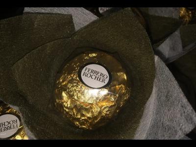 How to make Ferrero Rocher bouquet-Part I