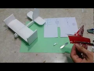 How to make model airplanes use a motor and very good flight