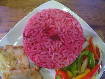 How To Make Nigerian Pink Rice