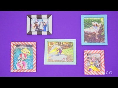 How to Make Paper Picture Frames