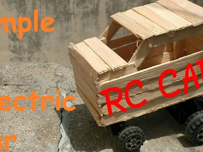 How to make rc electric car