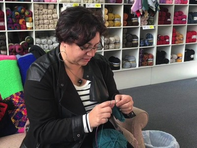 Knitting for calm and charity