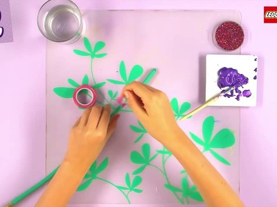 Lego Friends Crafts : How To Decorate A Tree Branch