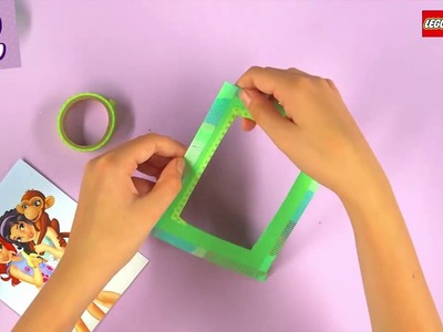 Lego Friends Crafts : How To Make A Picture Frame