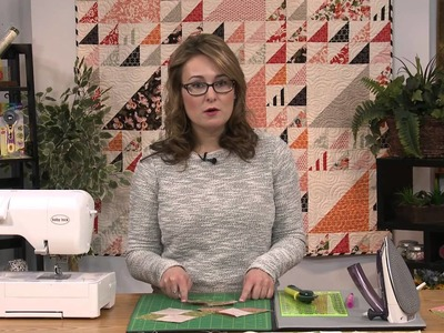 My First Quilt - Episode 31 Preview - How to Make Quick-Pieced, No-Waste Flying Geese
