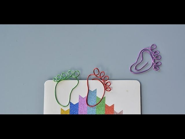 PandaHall Video Tutorial on How to Make Cute Little Foot Bookmarks for Kids