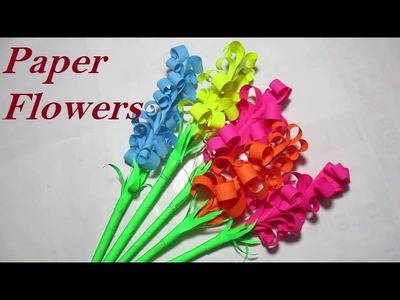 Paper Flowers - Paper Flowers For Kids
