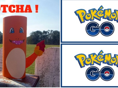 Pokemon Go - How to Make a Toilet Roll Charmander - Toilet Paper Roll Crafts