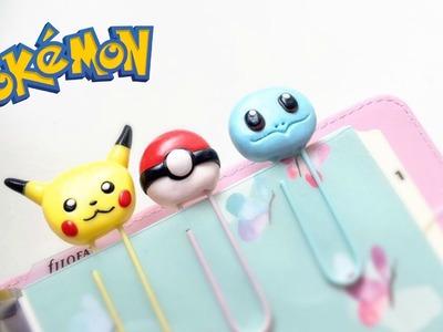 Pokémon Paper Clips | Polymer Clay Tutorial