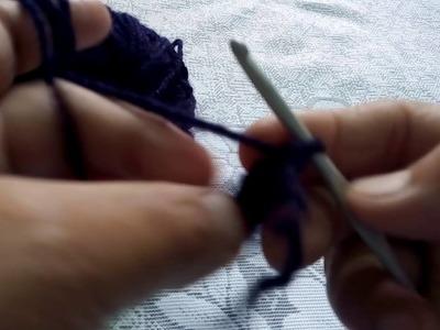 89 - Basics of crochet -Single crochet, Double crochet,Triple crochet- part-2 (Hindi.Urdu)17.7.16