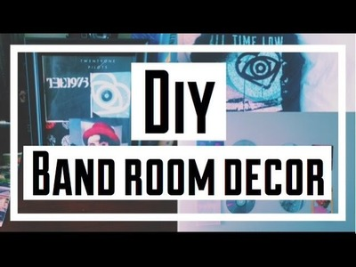 DIY Band Room Decor