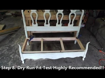 DIY Bed Board Bench Project