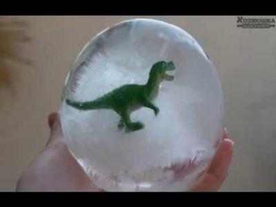 DIY   Frozen Dinosaur Eggs!