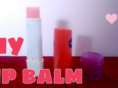 DIY lip balms | little miss maker