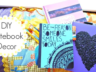 DIY Notebook Decor for Back to School
