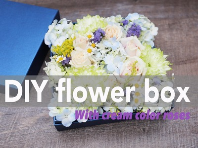 Flower Box DIY with a special guest