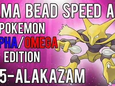 Hama Bead Speed Art | Pokemon | Alpha.Omega | Timelapse | 065 - Alakazam