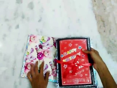 Handmade Memory Book - creative diy gift idea