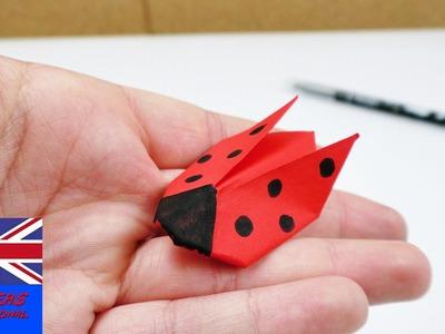 Ladybug Origami | Origami for kids | Decoration and gift idea