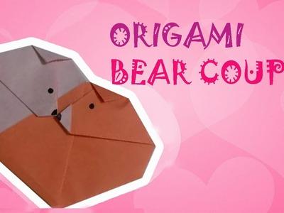Origami Easy - Origami Bear Couple