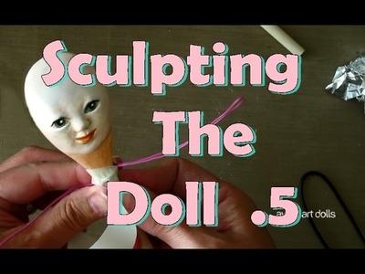 Sculpt an art doll for beginners. DIY doll. Fairy Queen 05 Ayala Art