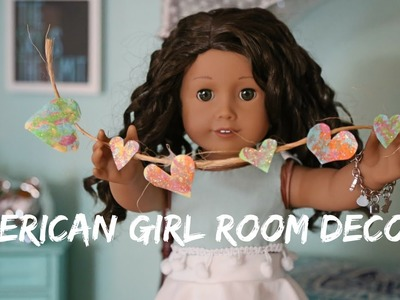 American Girl Doll Sponge Paint Craft!
