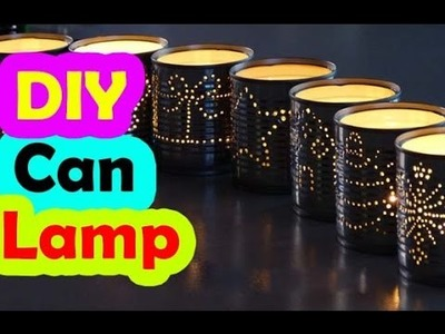 Beautiful Creative DIY Soda Can Lamp - Bring Happiness