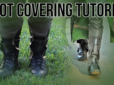Cosplay DIY: Boot Covering Tutorial