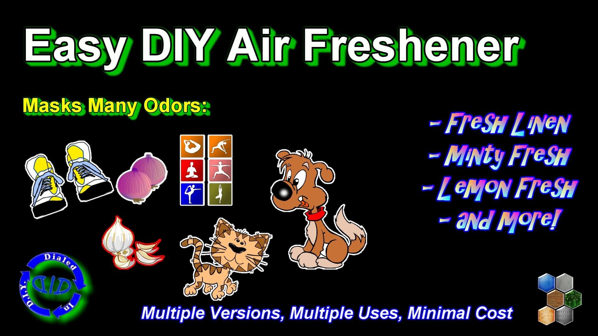 DIY Air Freshener - Room Deodorizer - Fresh Clean Smell Instantly