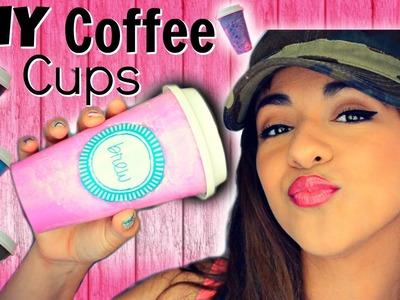 DIY Back to School Coffee Cups