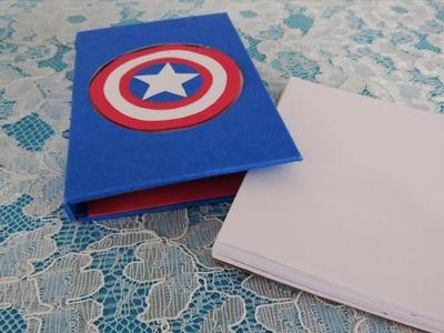 DIY - Captain America notepad