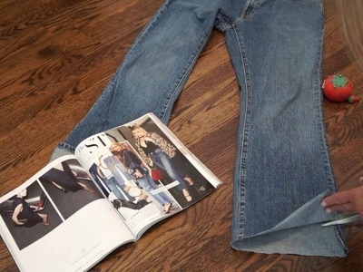 DIY Fashion Trend: Make Your Own Cropped Staggered Ankle Jeans