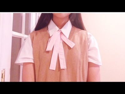 DIY.How-To: Cosplay Sweater Vest Uniform Tutorial