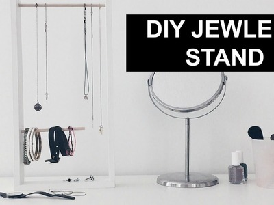DIY JEWELRY STAND. URBAN OUTFITTERS INSPIRED