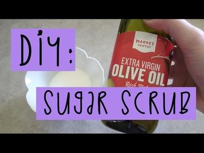 DIY Sugar Scrub - SUPER SOFT LEGS